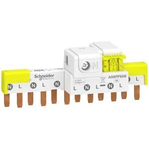 Peigne avec connecteur Acti9 iDT40 - 1P+N - 6 modules de 18mm - 63A SCHNEIDER