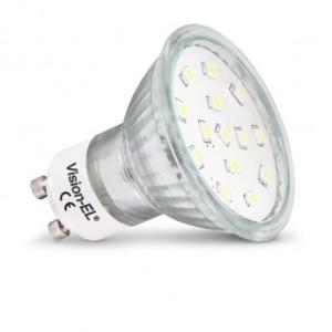 Ampoule LED GU10 dichroïque 4W 6000°K VISION EL