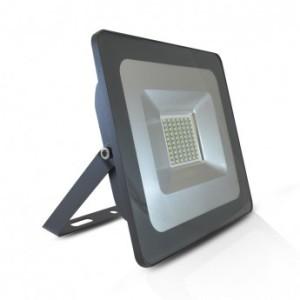 Projecteur extérieur LED plat 50W 3000°K - Gris VISION EL
