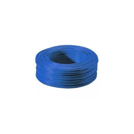 Fil HO7VR 1x10mm² Bleu en couronne de 100ml NEXANS
