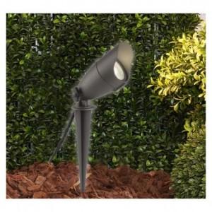 Projecteur piquet LED 6W 4000°K - noir VISION EL