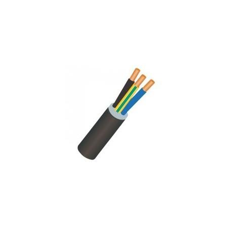Câble U1000RO2V 3G1.5mm² en couronne de 100ml NEXANS