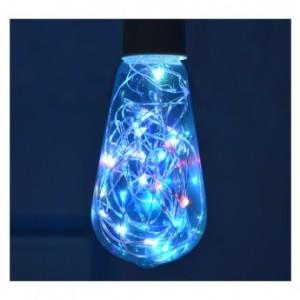 Ampoule LED E27 ST64 Filament 1W RGB VISION EL