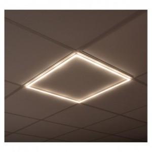 Plafonnier cadre LED 40W 4000°K 595x595mm VISION EL