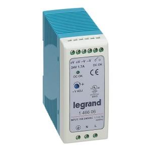 Alimentation stabilisée à découpage mono 60W - entrée 100V~ à 240V~ et sortie 24V LEGRAND