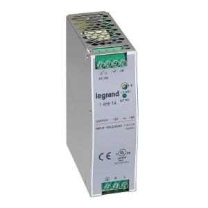 Alimentation stabilisée à découpage mono 120W - entrée 100V~ à 240V~ et sortie 12V LEGRAND