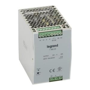 Alimentation stabilisée à découpage mono 480W - entrée 100V~ à 240V~ et sortie 24V LEGRAND