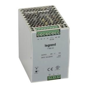 Alimentation stabilisée à découpage mono 480W - entrée 100V~ à 240V~ et sortie 48V LEGRAND