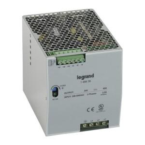 Alimentation stabilisée à découpage tri. 960W - entrée 3x380V à 3x500V - sortie 24V LEGRAND