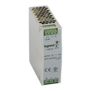Alimentation stabilisée à découpage mono/bi. 120W - entrée 200 à 500V - sortie 12V LEGRAND