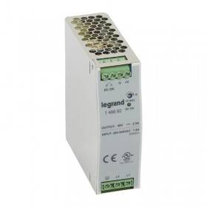 Alimentation stabilisée à découpage mono/bi. 120W - entrée 200 à 500V - sortie 48V LEGRAND