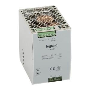 Alimentation stabilisée à découpage mono/bi. 480W - entrée 200 à 500V - sortie 48V LEGRAND