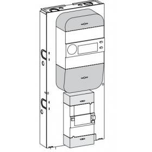 Panneau de contrôle triphasé Resi9 - 13 modules SCHNEIDER
