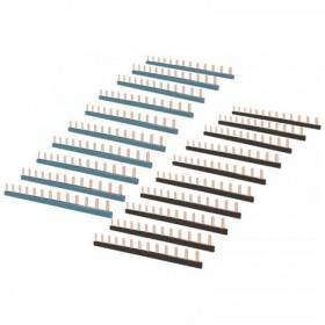 Peignes 13 modules noir et bleu - Panaché de 20 - Eur'ohm 19067 EUR'OHM