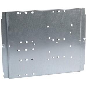 Platine pour 1 à 2 DPX250 différentiel et 1 DPX³630 fixe ou avec 1 répartiteur en position verticale dans XL³400 LEGRAND