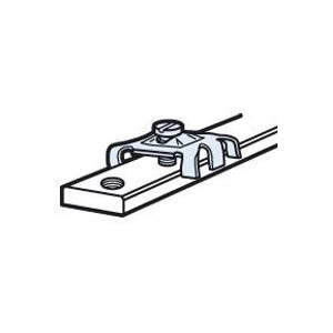 Connecteur pour barre cuivre 12x4mm à trous taraudés - pour 1 ou 2 conducteurs de 1,5mm² à 10mm² LEGRAND
