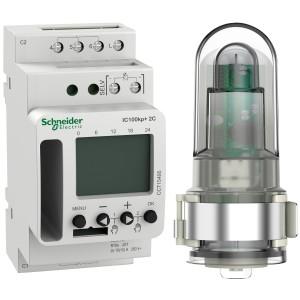 Interrupteur crépusculaire programmable - 2 canaux - smart - Acti9 IC100kp+ SCHNEIDER