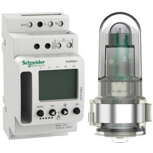 Interrupteur crépusculaire programmable 1 canal - Acti9 IC2000P+ SCHNEIDER