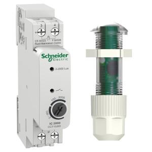 Interrupteur crépusculaire avec cellule tableau - Acti9 IC2000 SCHNEIDER