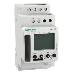Interrupteur horaire programmable - 2 canaux - smart - Acti9 IHP+ SCHNEIDER
