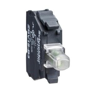Bloc lumineux XB4-XB5 - LED - 24 VACDC - rouge - ZBVB4 SCHNEIDER