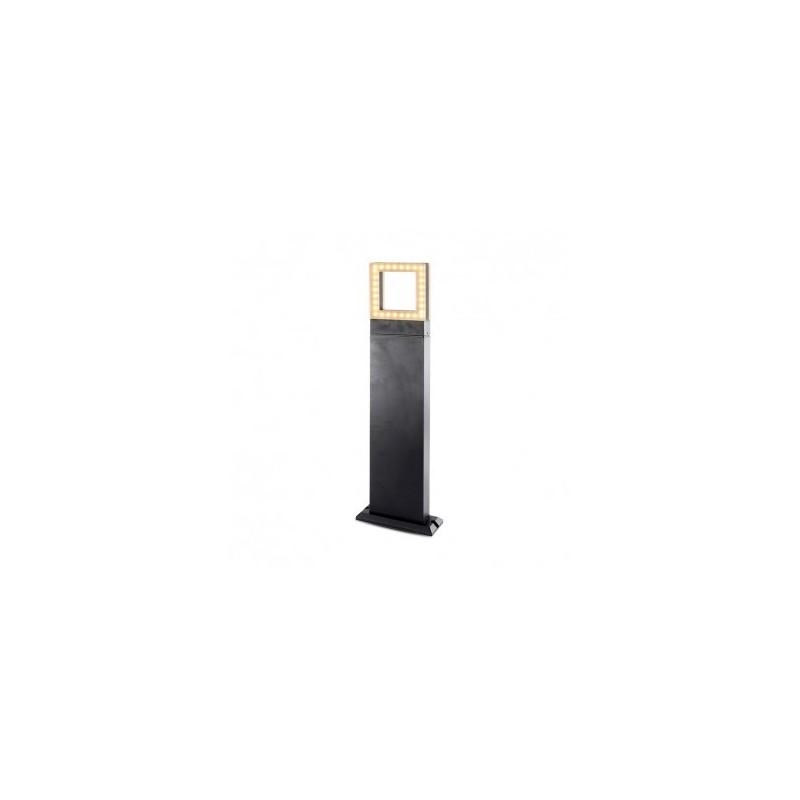 Potelet rectangulaire LED 12W 4000°K diffuseur carré - 0,5m VISION EL