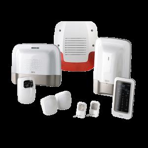 Pack alarme + Vidéo - sans fil - avec transmetteur IP/GSM et détecteur vidéo - TYXAL DELTADORE