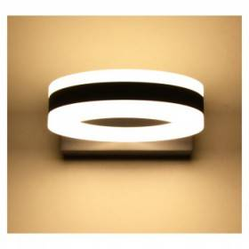 Applique murale LED 12W 4000°K ronde - Gris anthracite VISION EL