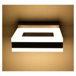 Applique murale LED 12W 4000°K carrée - Gris anthracite VISION EL