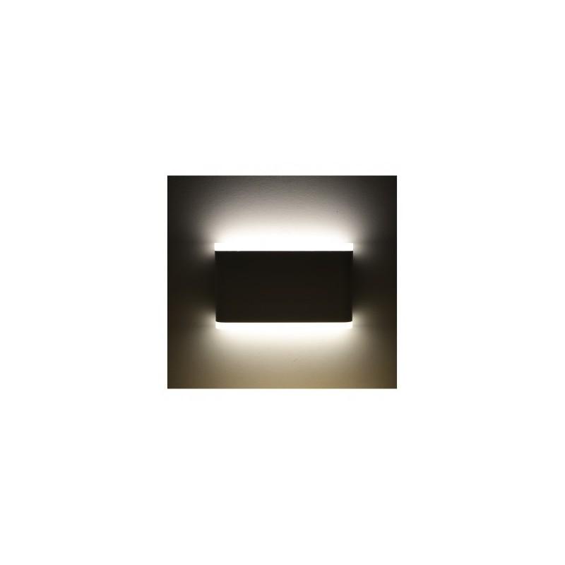 Applique murale LED 10W 4000°K rectangulaire - Blanc VISION EL