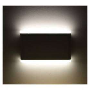 Applique murale LED 10W 4000°K rectangulaire - Gris anthracite VISION EL