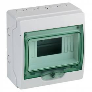 Mini coffret KAEDRA 8 modules - 195 x 200 mm - pour appareillage modulaire SCHNEIDER