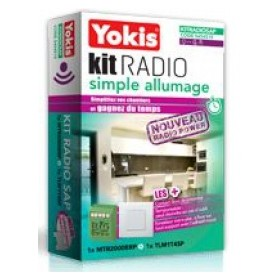Kit radio simple allumage Power - YOKIS YOKIS