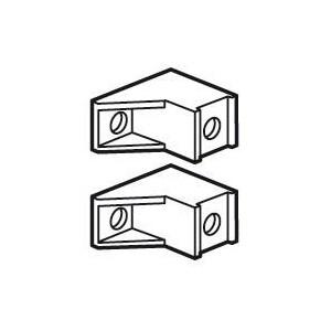 Support isolant pour coffrets XL³160 - Jeu de 2 LEGRAND