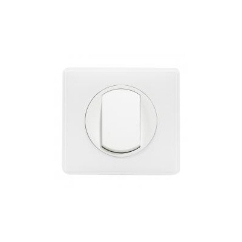 250 V Legrand 099565 C/éliane Interrupteur va-et-vient Blanc