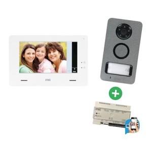 Kit vidéo Mini Note + transfert d'appel sur smartphone Call Me inclus URMET