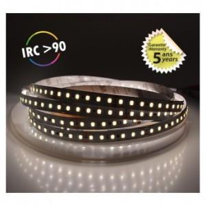 Bandeau LED 4000°K 5m 120 LED/m 72W IP20 - 24V - Garantie 5 ans VISION EL