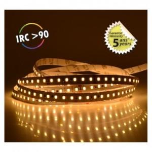 Bandeau LED 3000°K 5m 120 LED/m 72W IP20 - 24V - Garantie 5 ans VISION EL