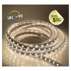 Bandeau LED 3000°K 5m 60 LED/m 62W IP67 - 24V - Garantie 5 ans VISION EL