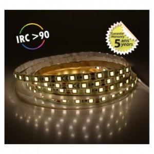 Bandeau LED 4000°K 5m 60 LED/m 62W IP65 - 24V - Garantie 5 ans VISION EL