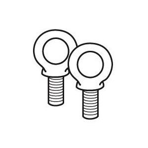Anneaux de levage pour coffret et armoire XL³800 - Jeu de 2 LEGRAND