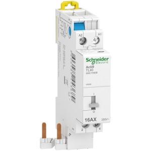 Télérupteur à raccordement rapide - 16A - 2P - 230V - Acti9 iDT40 TL SCHNEIDER