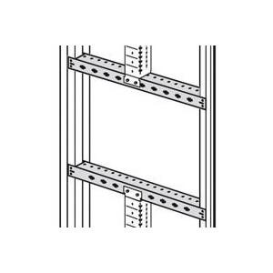 Traverses fixes pour armoire XL³4000 long. 600mm pour châssis partiel - Jeu de 2 LEGRAND