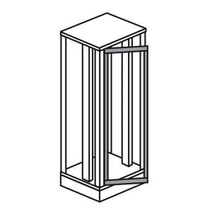 Cadre support plastron pivotant pour armoire XL³4000 larg. 725mm - haut. ext. 2000mm LEGRAND