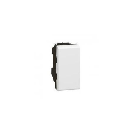 Interrupteur ou va-et-vient 10AX 250V~ Mosaic 1 module - blanc LEGRAND