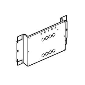 Platine fixe pour 1 ou 2 DPX-IS250 en position verticale dans XL³4000 ou XL³800 - 36 modules LEGRAND