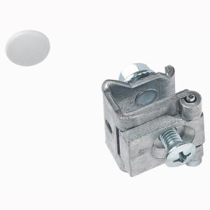Charnières à fixer sur les plastrons à vis - pour XL³4000 et XL³800 - Jeu de 2 LEGRAND