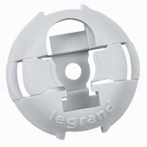 Embase fixable par cloueur Pulsa 700E ou par vis Ø4mm - Gris RAL7035 - Emballage 100 LEGRAND