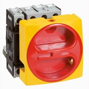 Interrupteur-sectionneur rotatif complet encastré cadenassable - tétrapolaire neutre à gauche - 20A LEGRAND