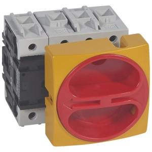 Interrupteur-sectionneur rotatif complet encastré cadenassable - tétrapolaire neutre à gauche - 80A LEGRAND